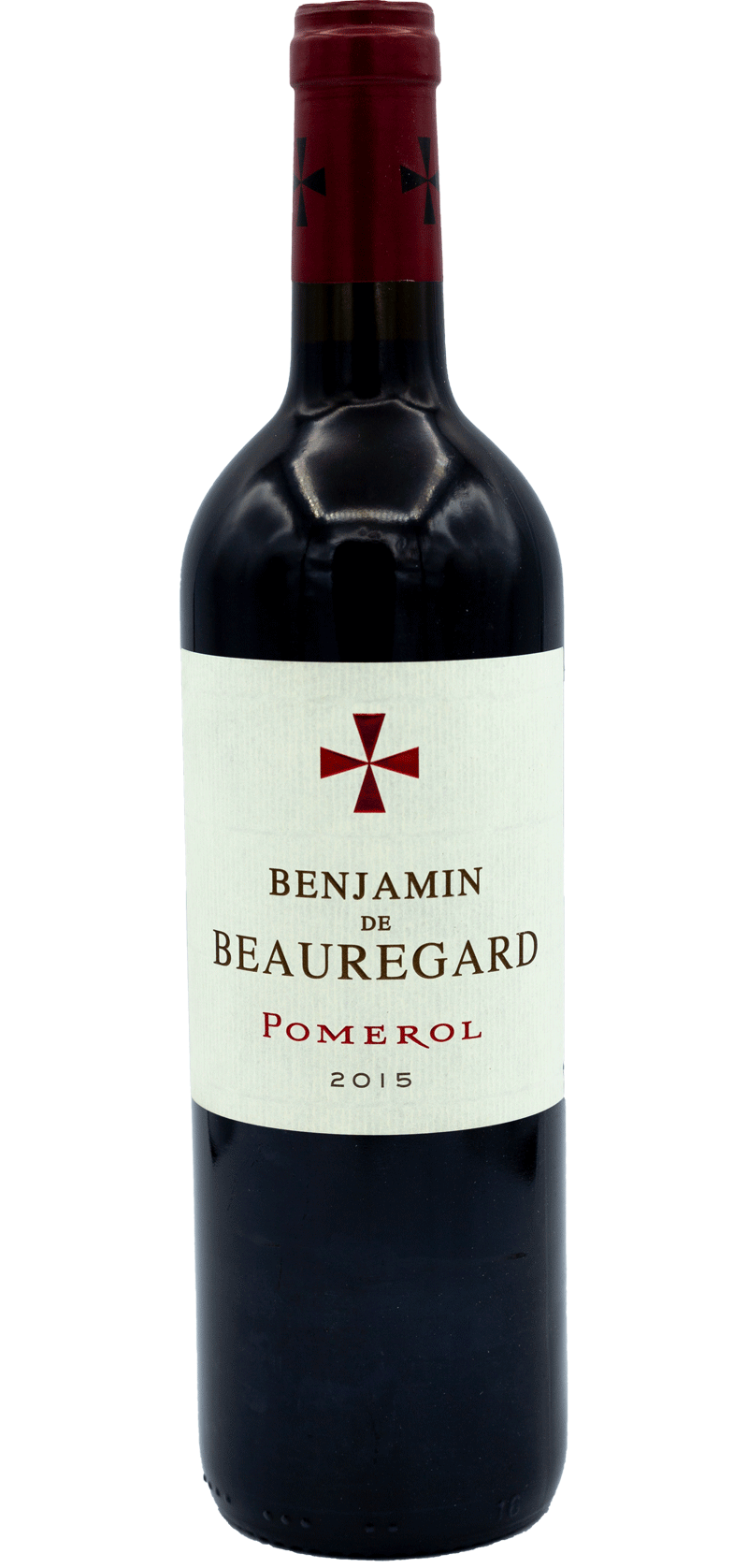 Benjamin de Beauregard - Pomerol - 2015 - Red Wine
