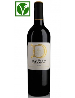 D de Dauzac 2016 - Bordeaux - 100% Vegan - Red wine