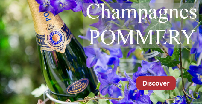 Discover our exceptional Champagnes from the Pommery house!
